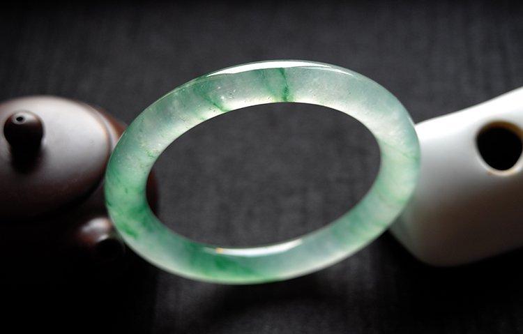 Rare Natural Burmese jadeite jade bracelet