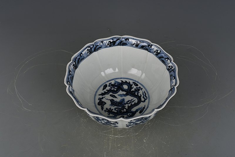 China Ming Dynasty Blue and White Porcelain Bowl - 10
