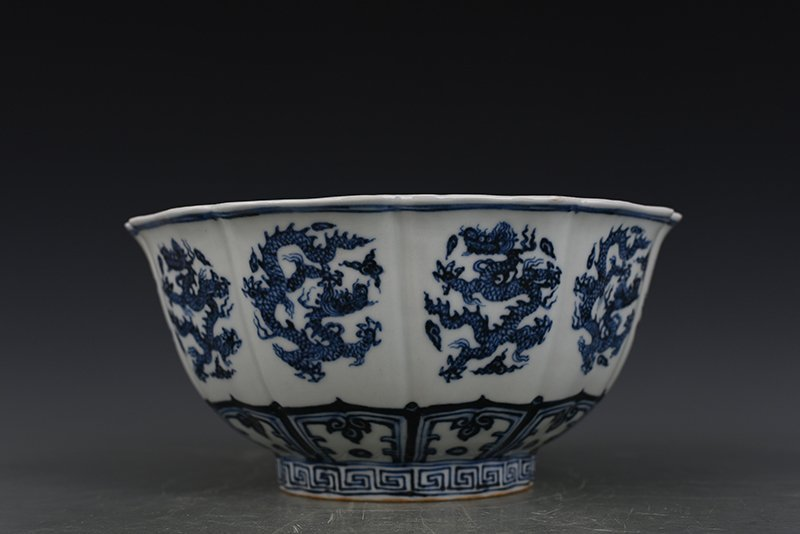 China Ming Dynasty Blue and White Porcelain Bowl - 5