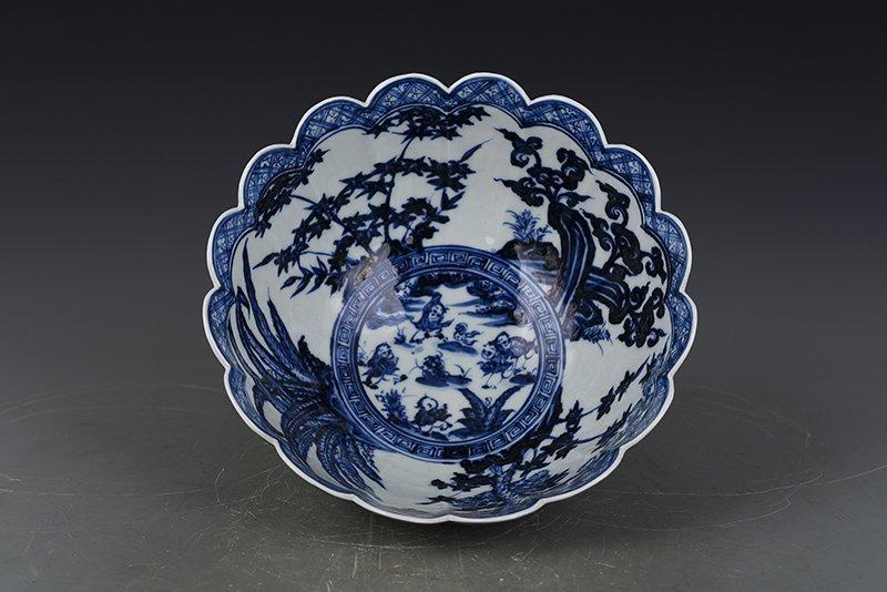 China Ming Dynasty Porcelain Bowl - 2
