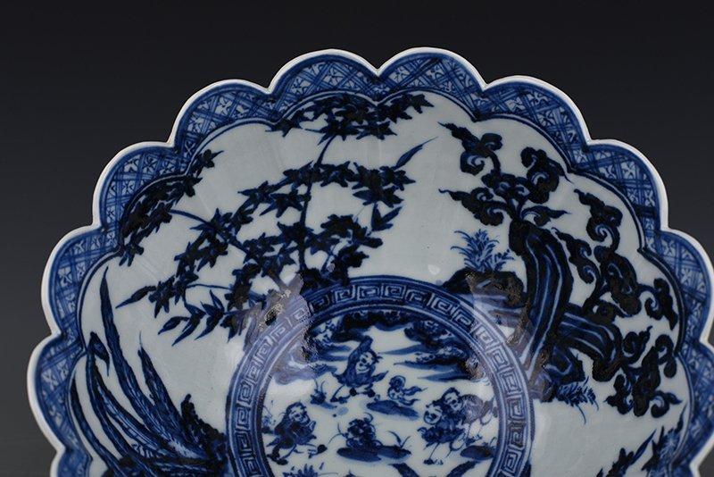 China Ming Dynasty Porcelain Bowl - 5
