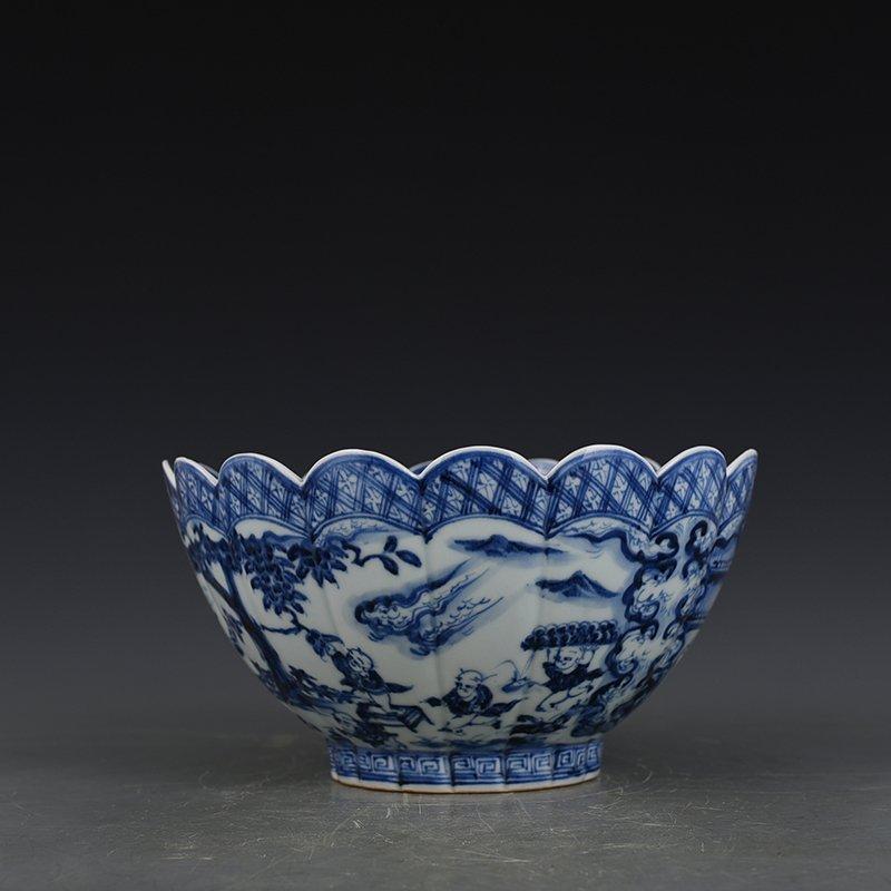 China Ming Dynasty Porcelain Bowl - 6