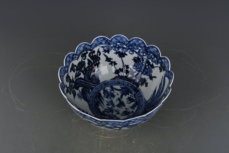 China Ming Dynasty Porcelain Bowl - 8