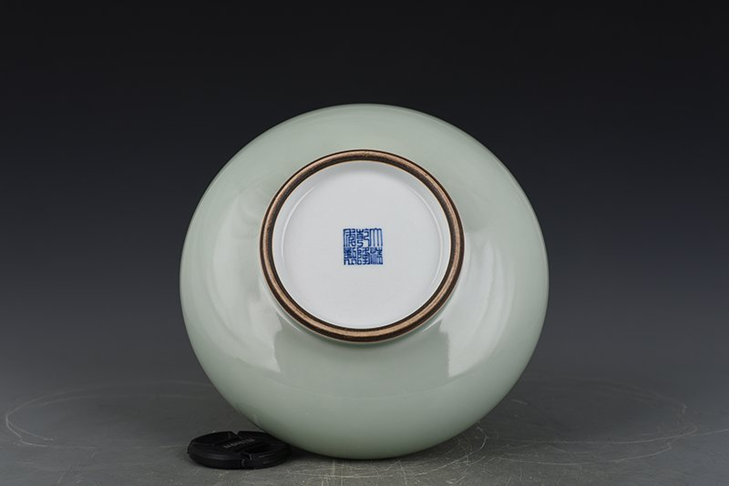 Chinese Qing Dynasty Period Porcelain Vase - 6