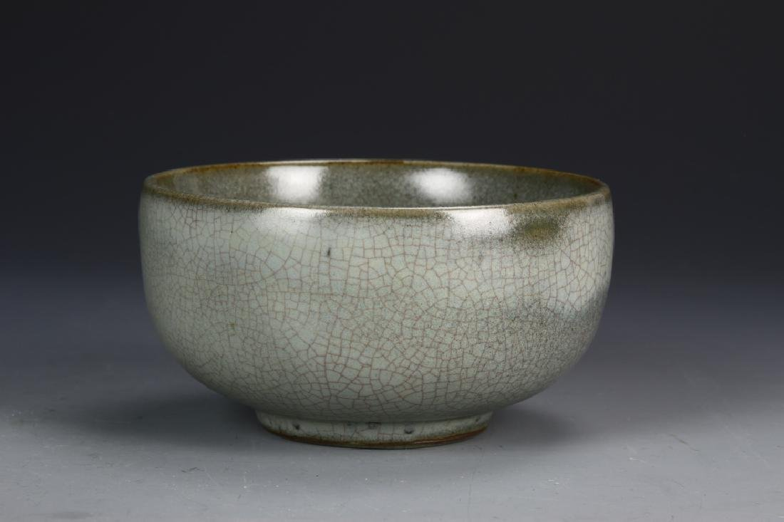 Chinese Guan Type Crackle Glazed Bowl
