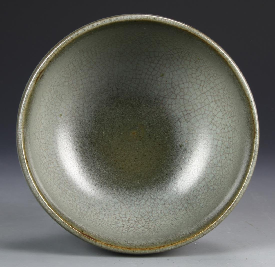 Chinese Guan Type Crackle Glazed Bowl - 3