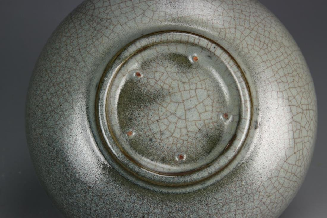 Chinese Guan Type Crackle Glazed Bowl - 5