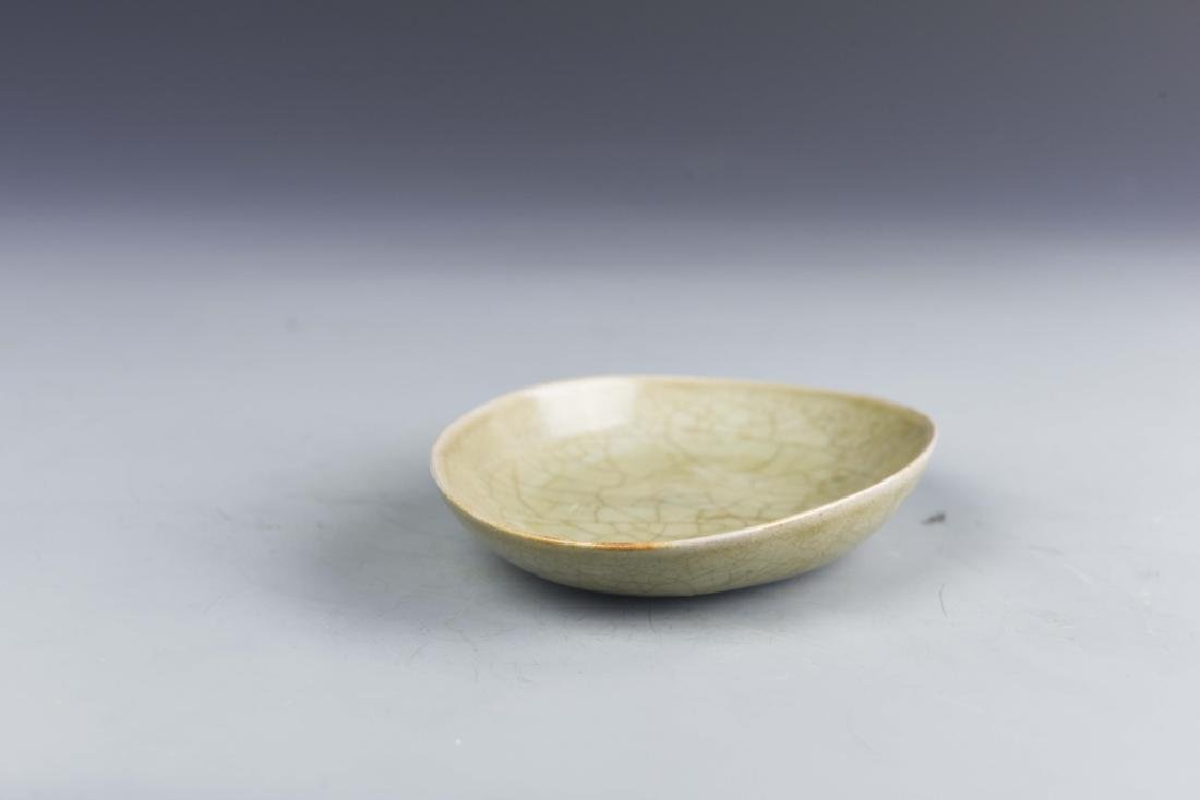 Chinese Yue Yao Oval Plate - 6