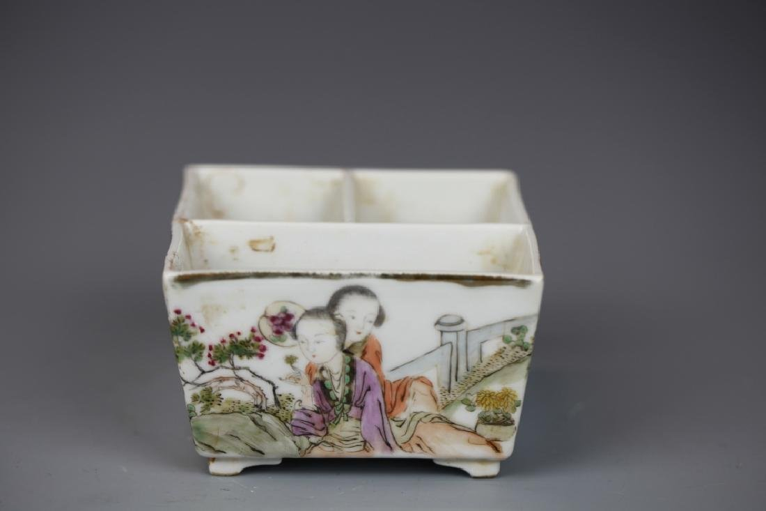Chinese Famille Rose Painting Jar