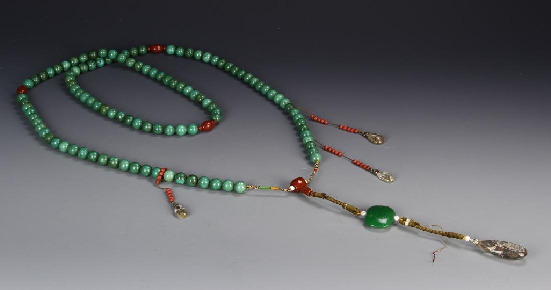 Chinese Korea Beads Agate Necklace