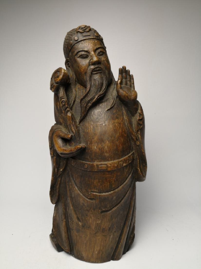 Chinese Bamboo Figure