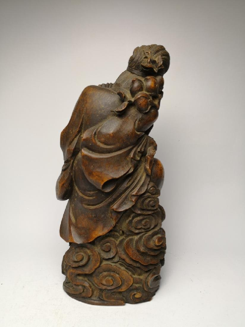 Chinese Bamboo Figure - 3