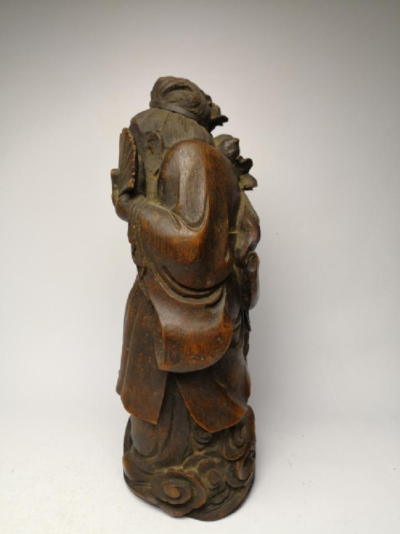 Chinese Bamboo Figure - 4