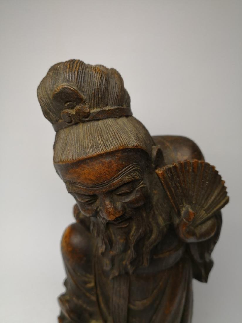 Chinese Bamboo Figure - 5