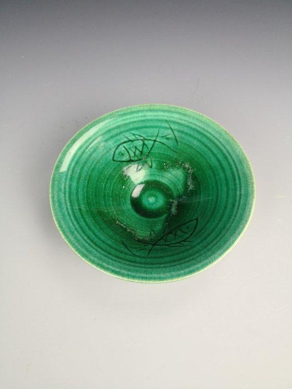 Chinese Green Glazed Phoenix Blow
