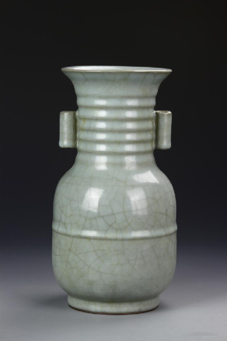 Chinese Antique Long Quan Yao Vase