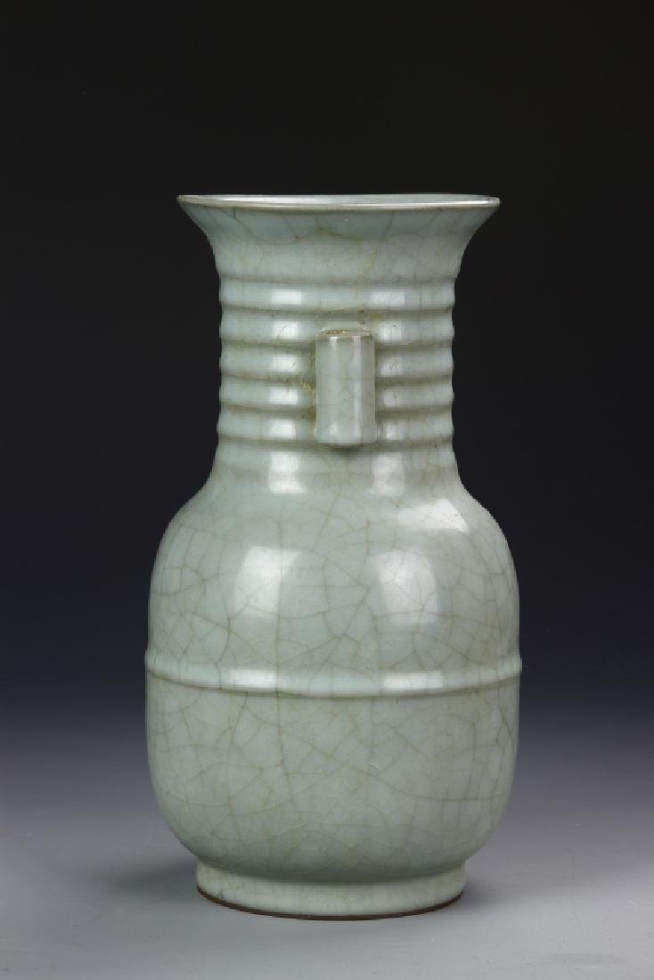Chinese Antique Long Quan Yao Vase - 2