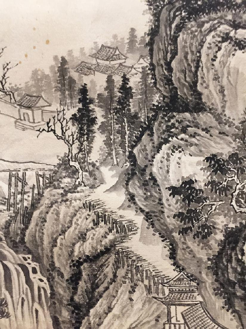 Chinese Scroll Painting of Landscape - 10