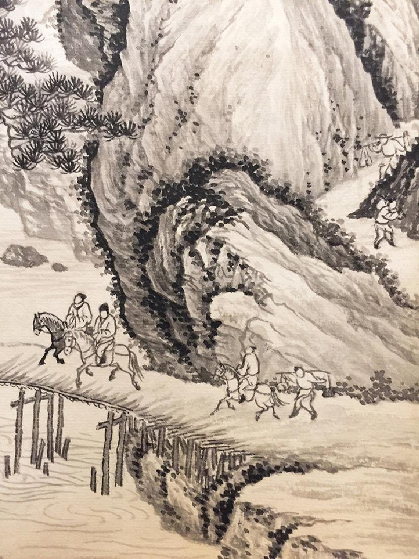 Chinese Scroll Painting of Landscape - 7