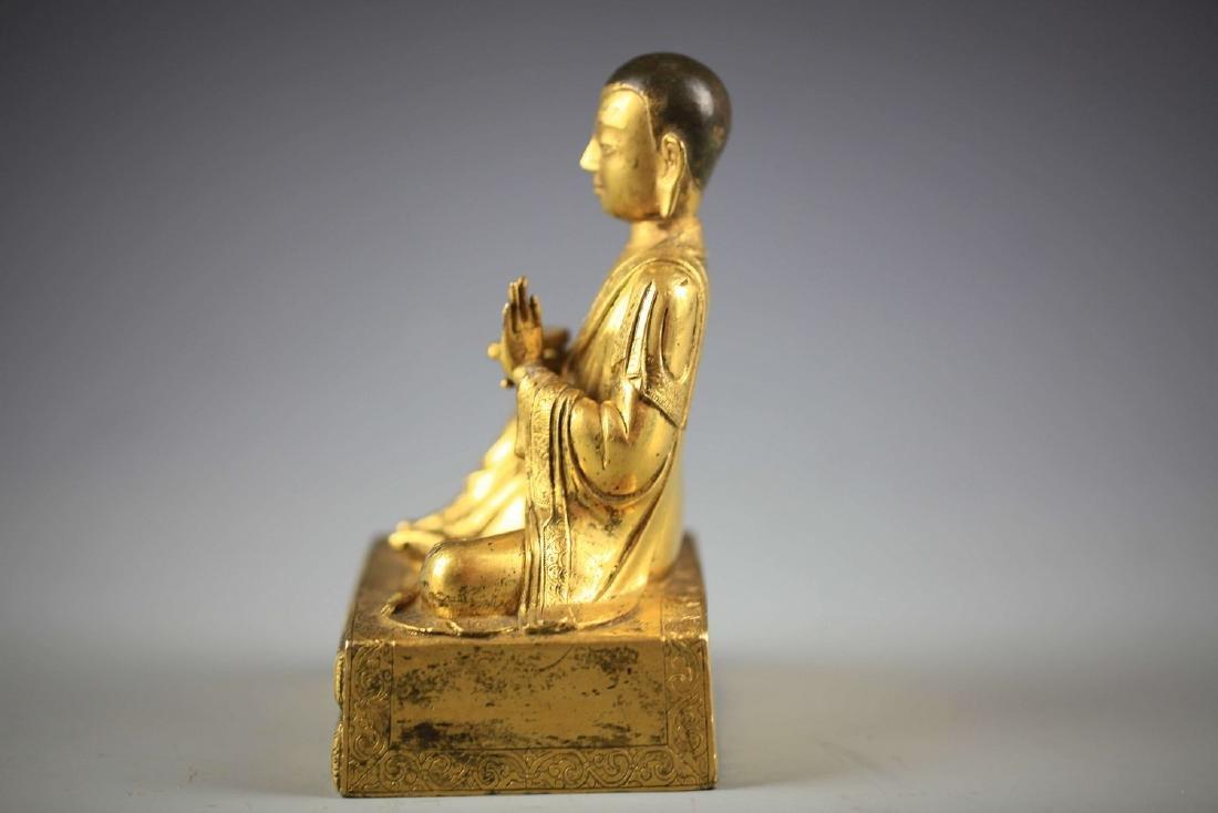 China, Gilt Bronze Figure of A Buddha - 2