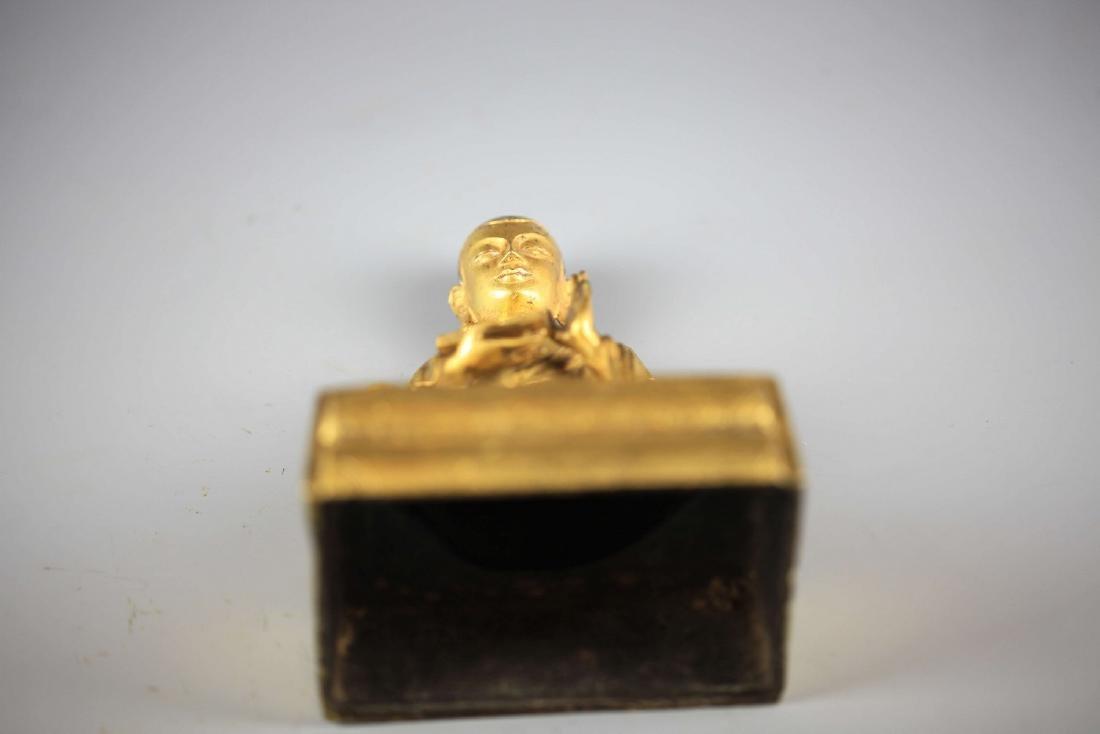 China, Gilt Bronze Figure of A Buddha - 5