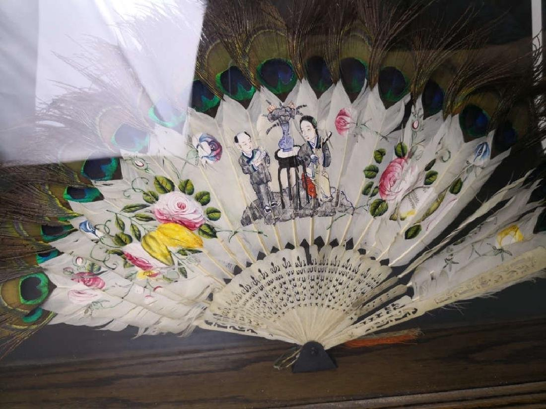 Chinese Feather Fan