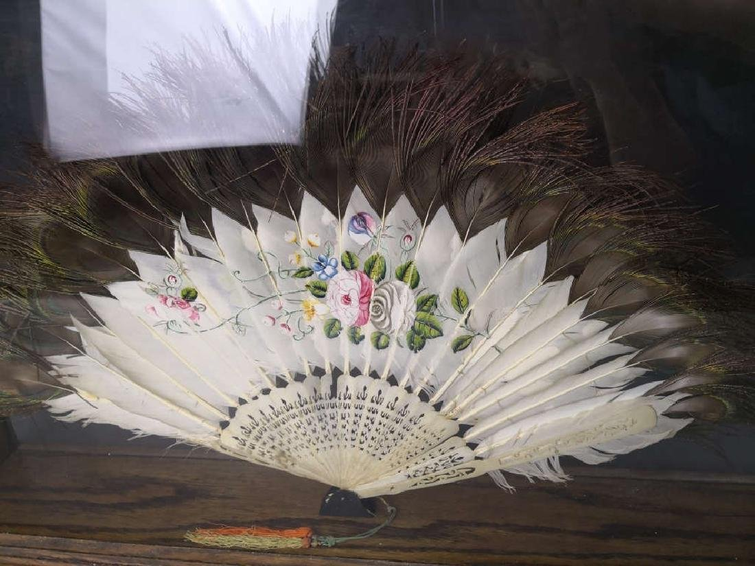 Chinese Feather Fan - 4