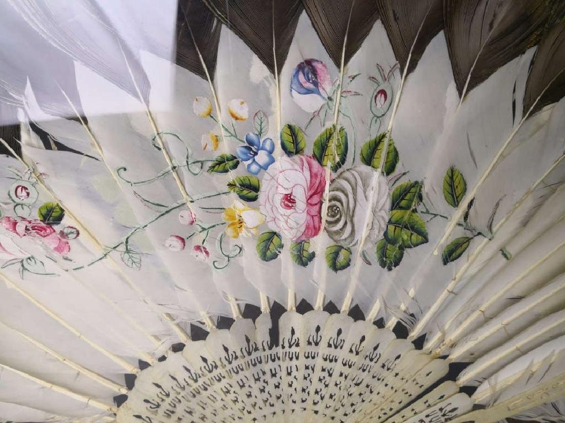 Chinese Feather Fan - 5