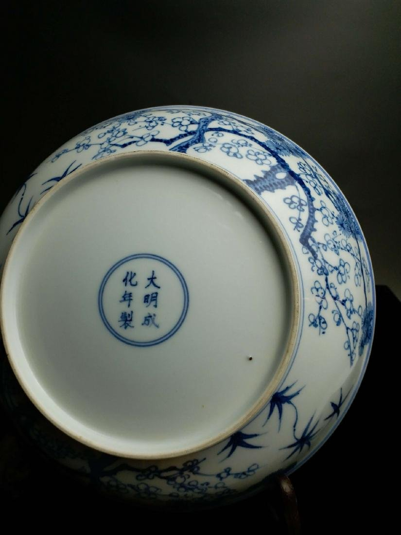 China,blue and white,plate - 2