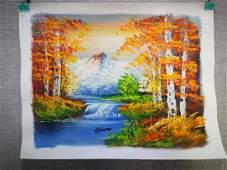 China Landscape Painting Work