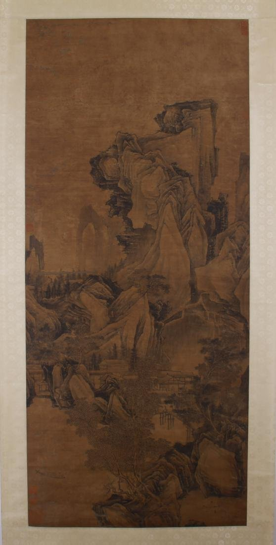 CHINESE PAINTING OF LANDSCAPE.