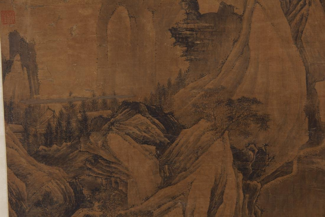 CHINESE PAINTING OF LANDSCAPE. - 2