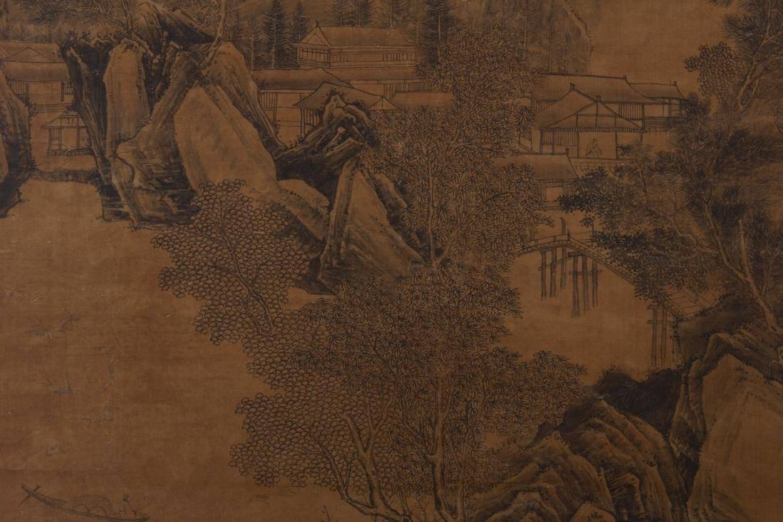CHINESE PAINTING OF LANDSCAPE. - 3