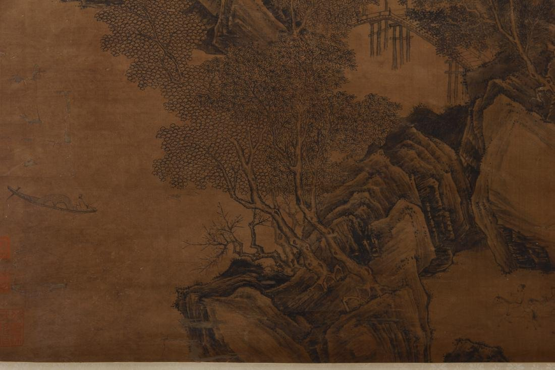 CHINESE PAINTING OF LANDSCAPE. - 4