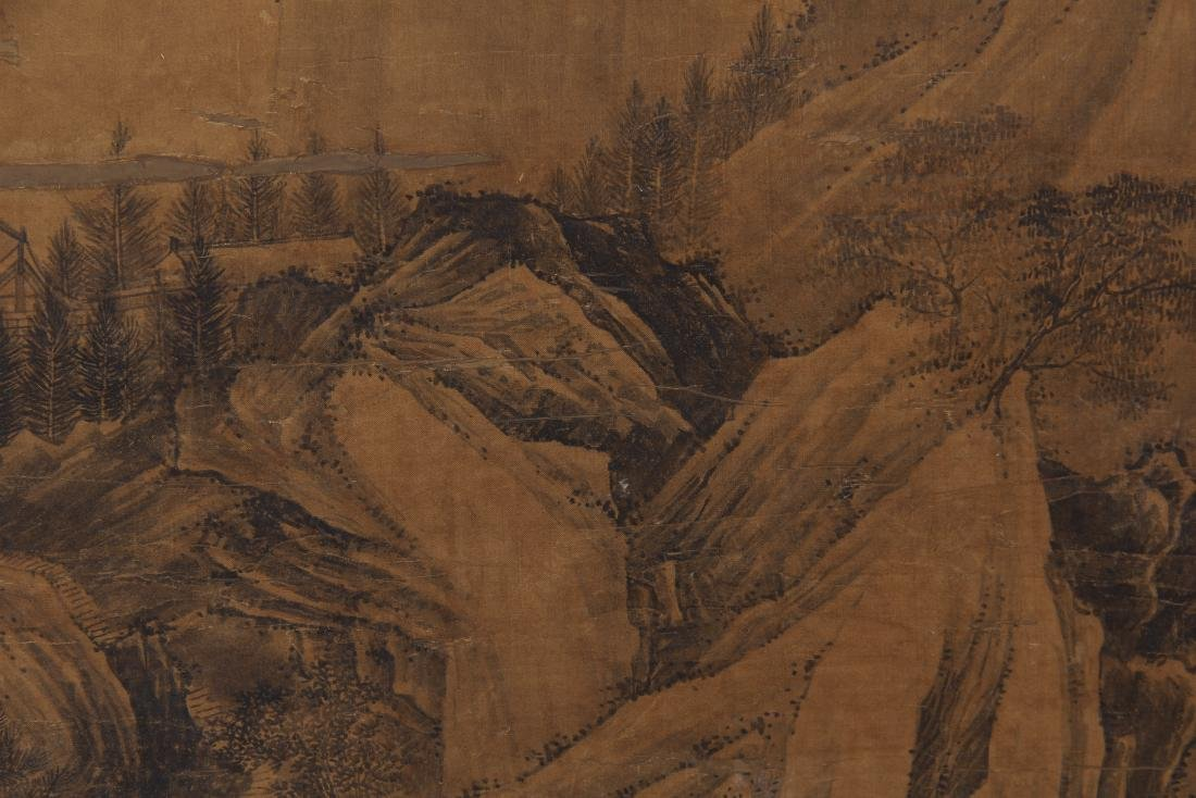 CHINESE PAINTING OF LANDSCAPE. - 5