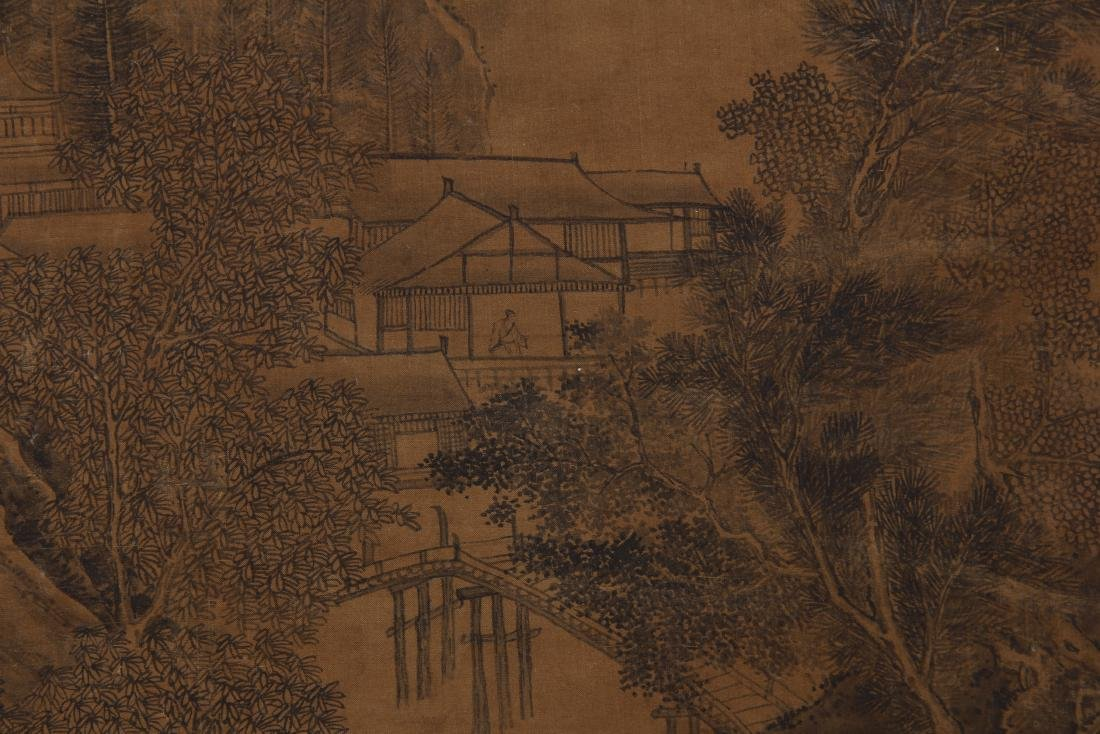 CHINESE PAINTING OF LANDSCAPE. - 7