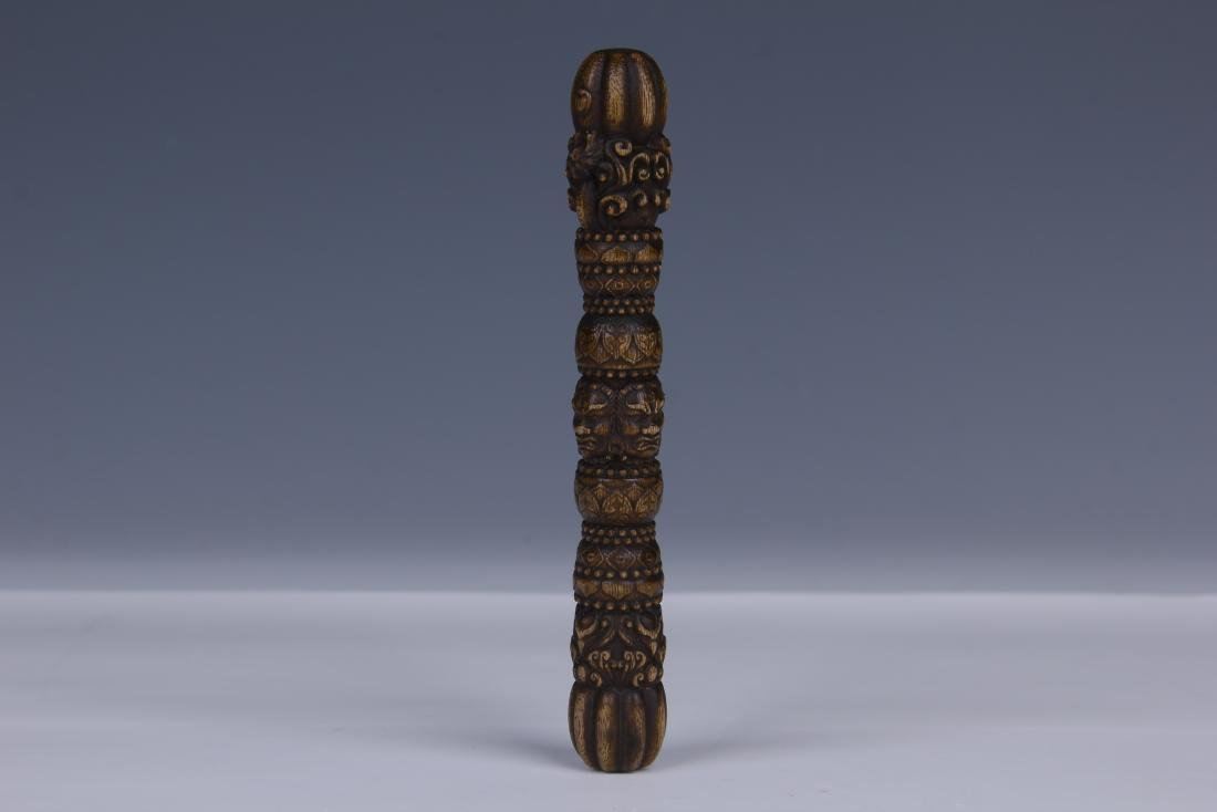 AN CHENGXIANG WOOD BUDDHIST INSTRUMENT - 2