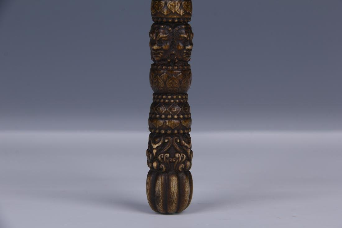 AN CHENGXIANG WOOD BUDDHIST INSTRUMENT - 4