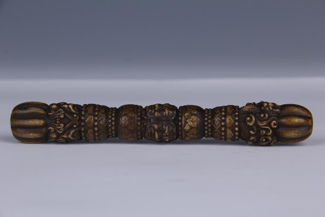 AN CHENGXIANG WOOD BUDDHIST INSTRUMENT - 5