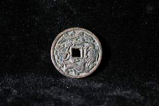 AN UNOFFICIAL COIN WITH BEAST PATTERN