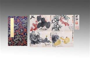CHINESE PAINTING ALBUM OF INSECTS AND FLOWERS