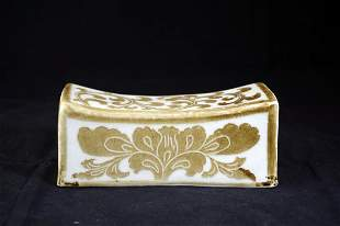 CHINESE DING WARE PORCELAIN WAIST REST