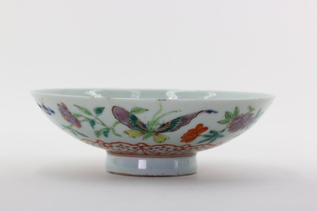 A Chinese Familie Rose Porcelain Bowl,Qing dynasty