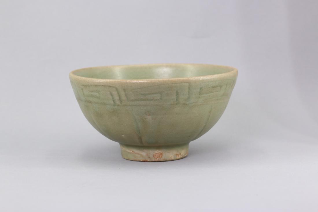 A Chinese Longquan Glazed Celadon Bowl