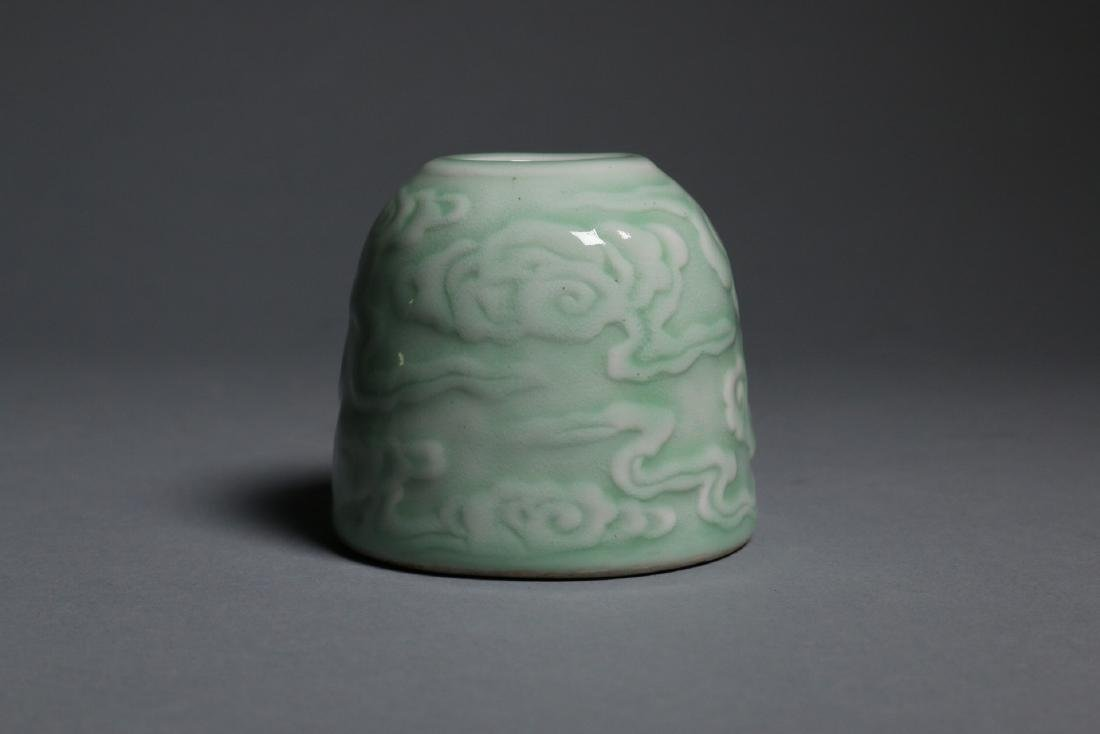 A rare imperial waterpot, Kangxi marks