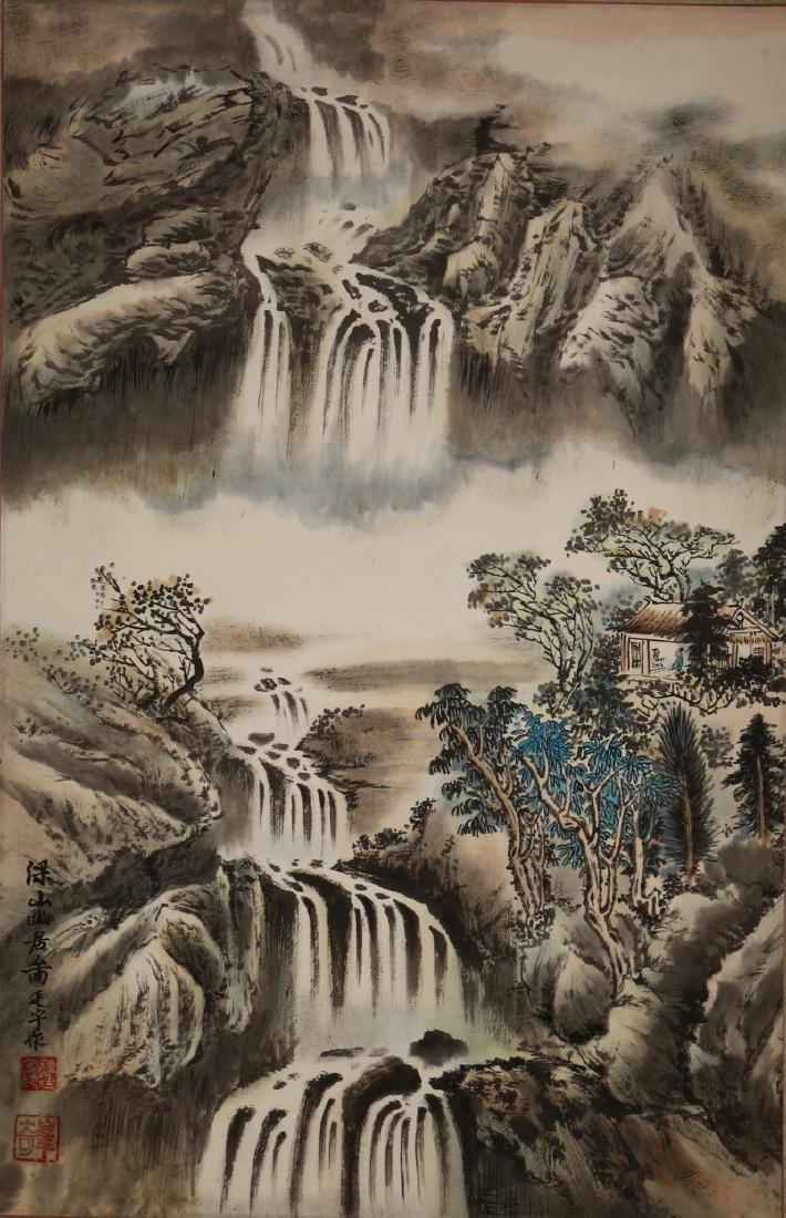 A Chinese Antique Scroll Painting