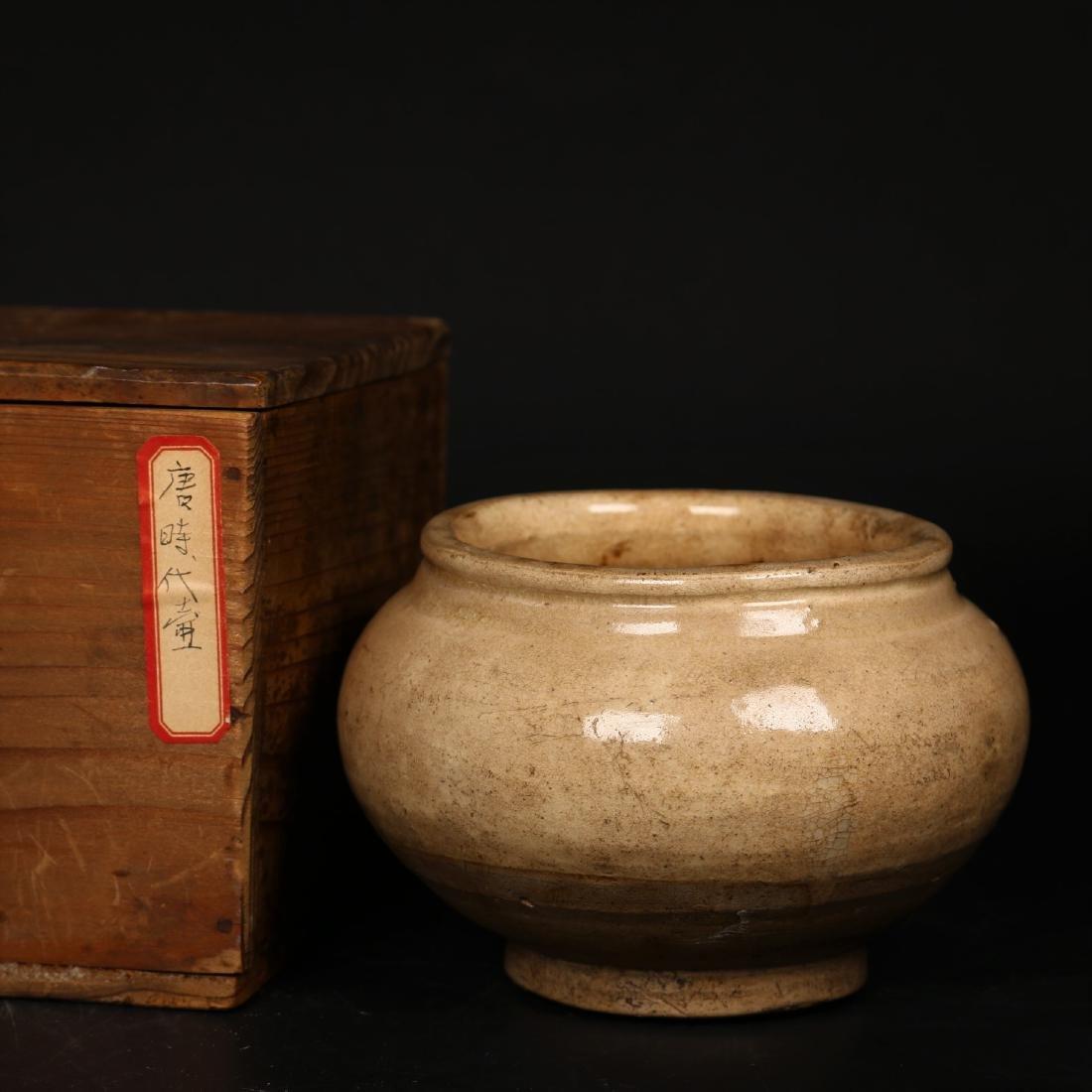 A Chinese Tang Dynasty Jar