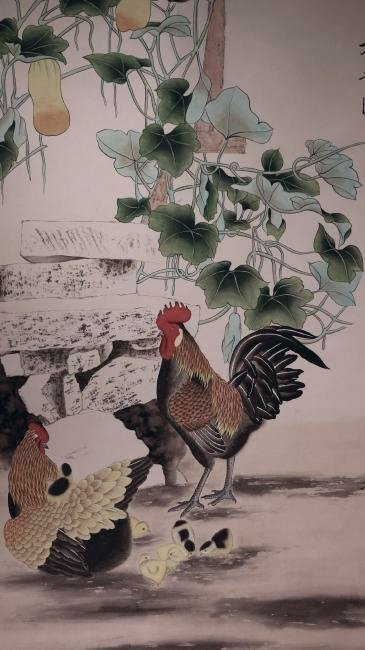 A Chinese Scrolled Painting, Tian Shi Guang - 4