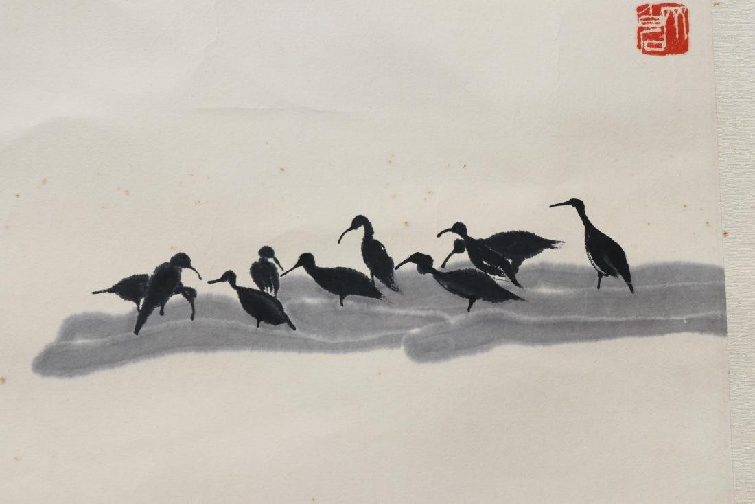 A Chinese Painting, Signed Qi Bai Shi - 4