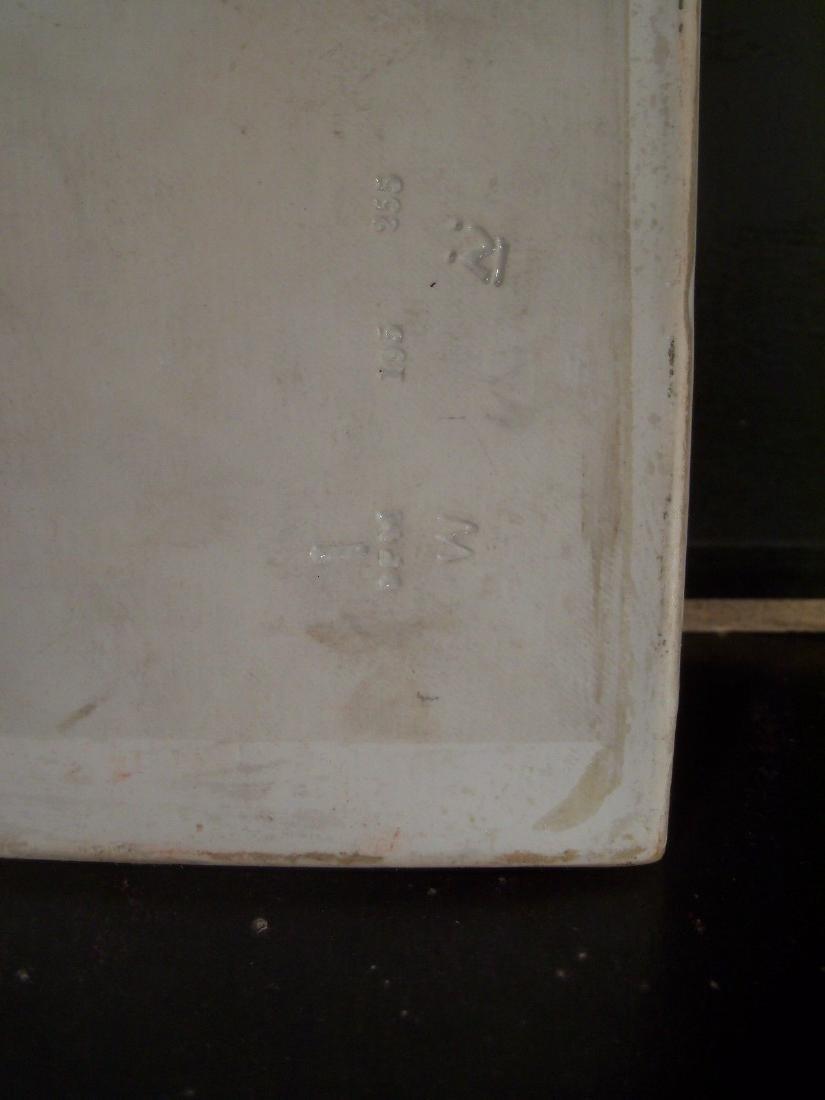 Antique KPM Hand Painted Porcelain Plaque of Spring - 3